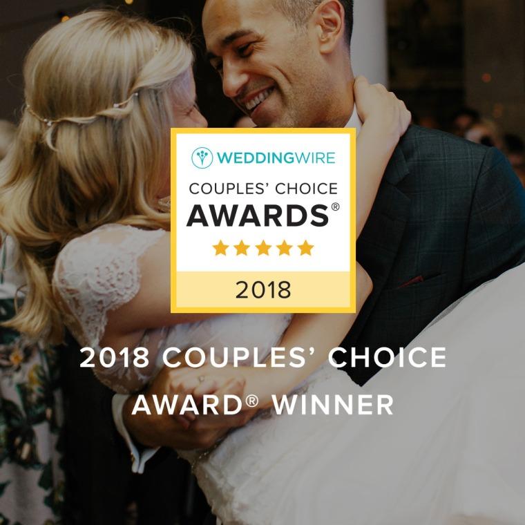 2018 Couples Choice Award - WeddingWire[1298]